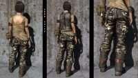 Falout 4 - Одежда путешественника - CBBE - BodySlide