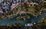 Skyrim - Карта мира в разрешении 4к