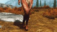 Skyrim - Оленьи копыта и хвост