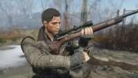 Fallout 4 - Ретекстур Охотничьего Карабина в Ремингтон 700