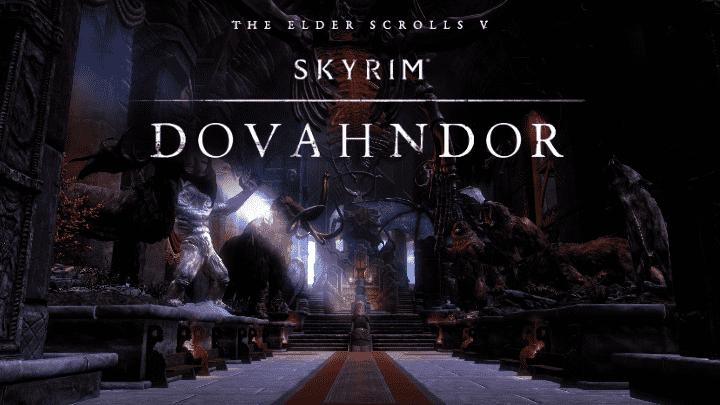 Skyrim - Halls of Dovahndor / Залы Довандора