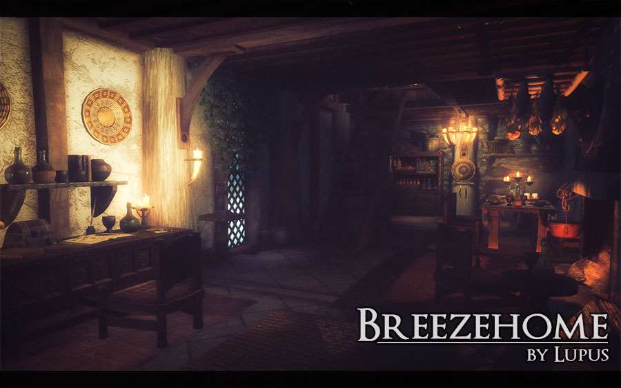 Skyrim - Breezehome by Lupus / Дом теплых ветров by Lupus