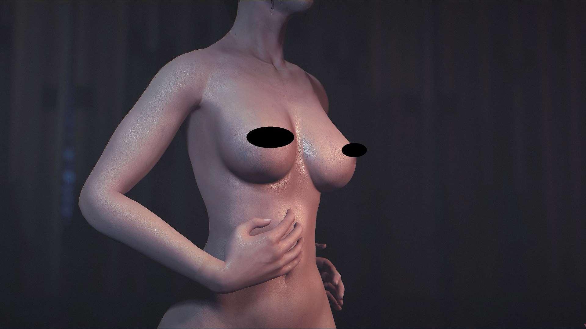 Fallout 4 — 8к текстуры тел для девушек (CBBE) | Fallout 4 моды