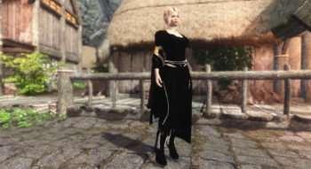 Skyrim — Одежда Ведьмы UNP-HDT