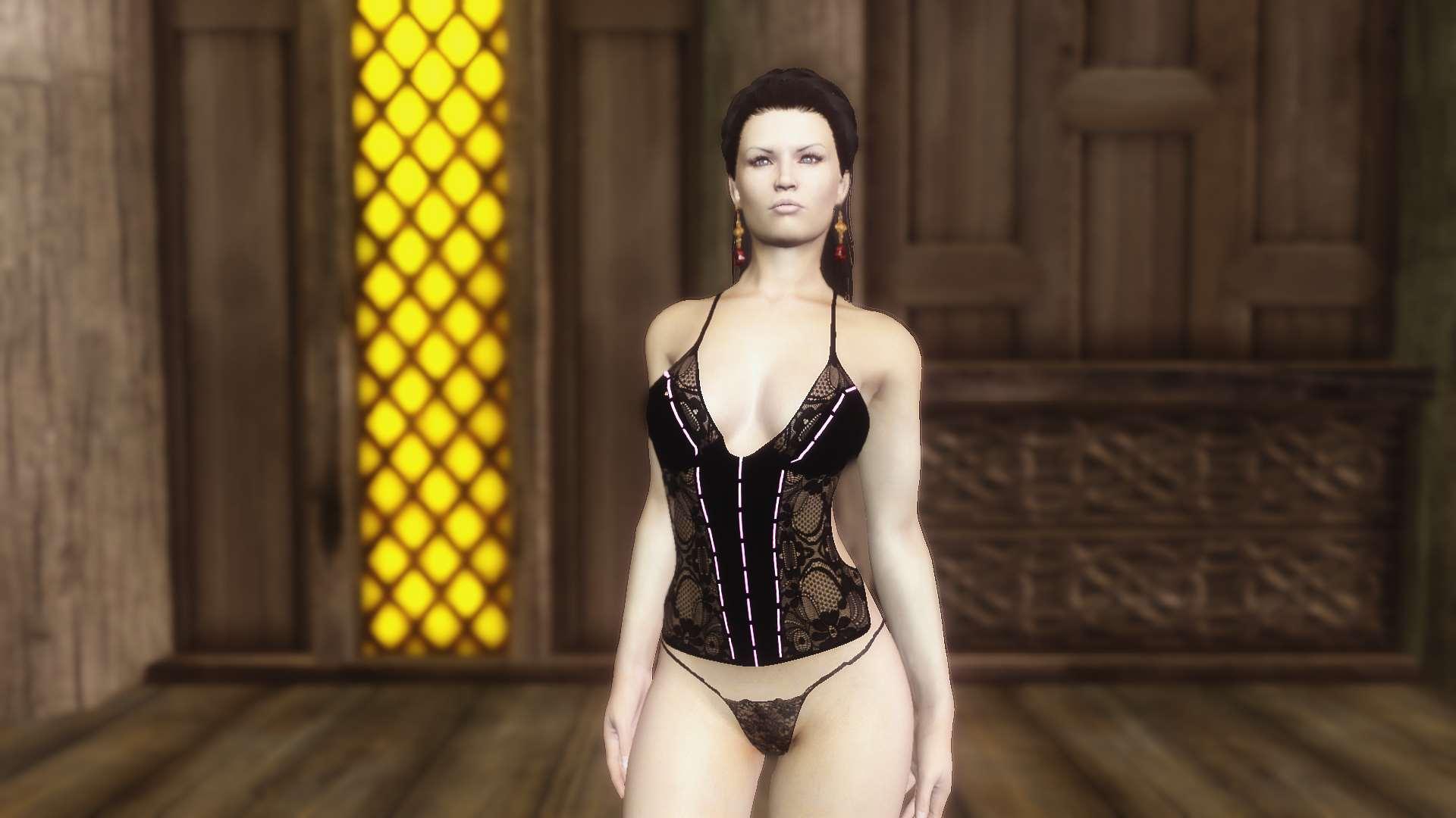 Большой набор сексуальной одежды брони для unp