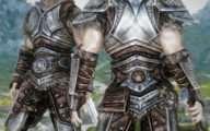 Skyrim - aMidianBorn Steel Armor / Ретекстур стальной брони от CaBaL