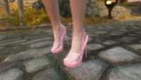 Skyrim - Pink clothes UNP-HDT(Розовая одежда)