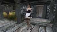 Skyrim - Одежда горничной UNP-HDT