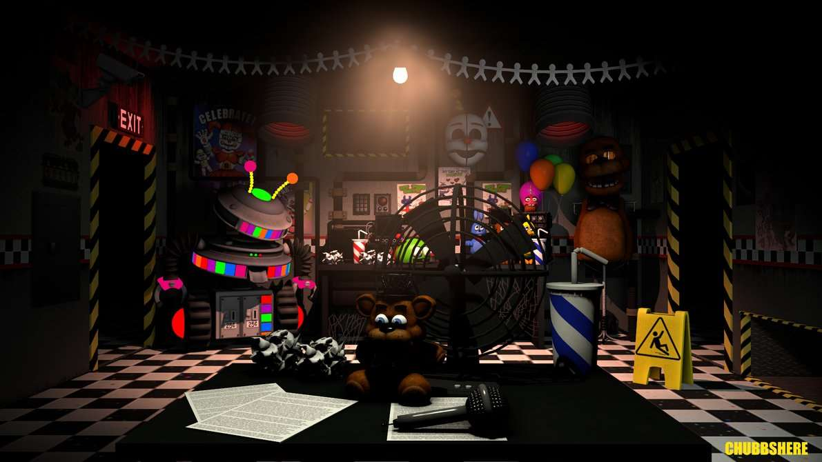 Garrys Mod - Ultimate Custom Night [MAP] [FNaF]