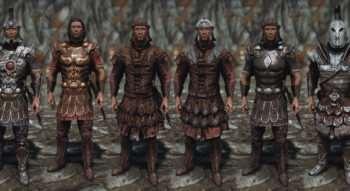 HD Имперская броня и Оружие