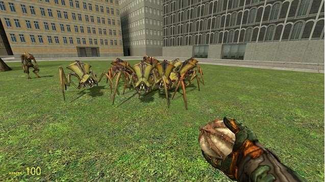 Работающий Феропод из Half-life 2