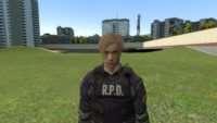 Garrys Mod - RESIDENT EVIL 2 - Leon S. Kennedy [PM & NPC]