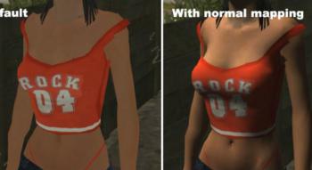 Normal Mapping (улучшение текстур скинов)