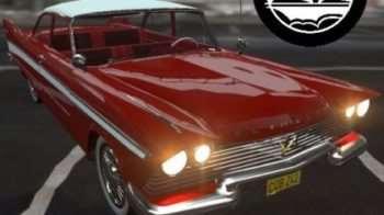 Garry's mod — 2 автомобиля в стиле 57 годов!