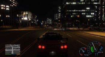 GTA 5 — Need for Speed Underground Speedometer | GTA 5 моды