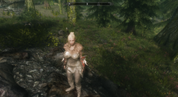 Senua's Equipment HDT СBBE UNP | Skyrim моды