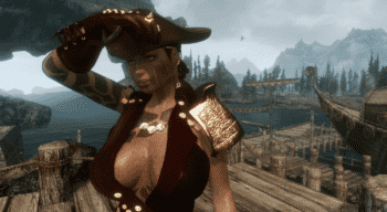 Pirate Series1 HDT SMP | Skyrim моды