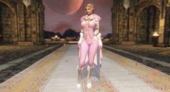 Skyrim — Бело-Розовая одежда