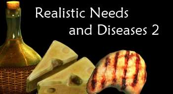 Skyrim — Realistic Needs and Diseases 2.0 (RUS)