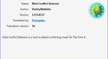 TS4 Package Conflict Detector 1.9.9.8337