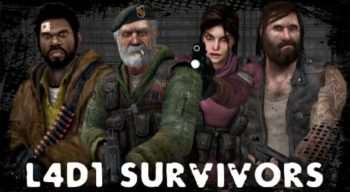 Left 4 Dead 2 — The Original L4D Survivors | Left 4 Dead 2 моды