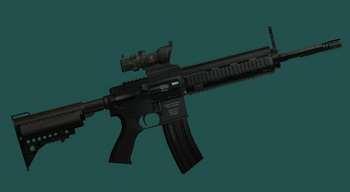 """HK 416 """"Снайперский"""""""
