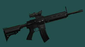 "HK 416 ""Снайперский"" | Fallout 3 моды"
