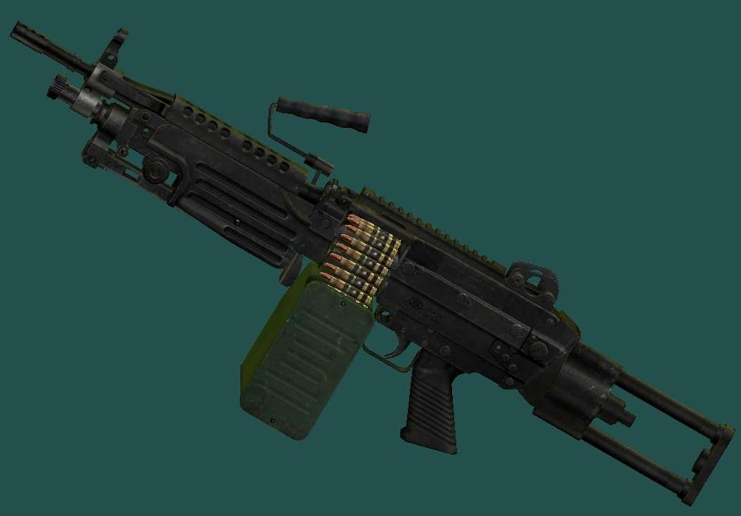 Ручной пулемет М 249 SAW | Fallout 3 моды