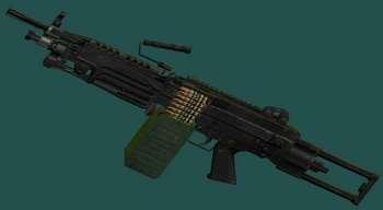 Ручной пулемет М 249 | Fallout 3 моды