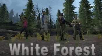 Left 4 Dead 2 — White Forest — кооперативная кампания | Left 4 Dead 2 моды