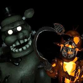 Garrys Mod — v2 DreadBear с игры FNAF Help Wanted Curse of Dreadbear