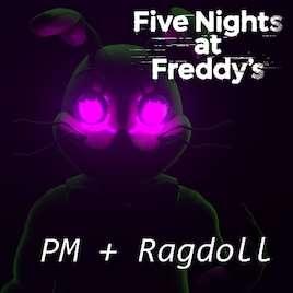 Garrys Mod — FNAF:HW Ragdoll Гличтрапа + PlayerModel