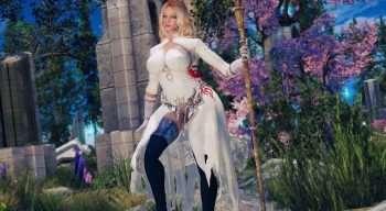 Skyrim — Белый наряд из SINoALICE | Skyrim моды