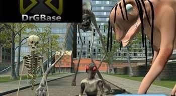 [DrGBase] Trevor Henderson Creatures part 1