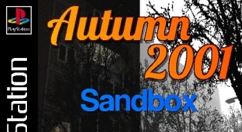Autumn 2001 Sandbox