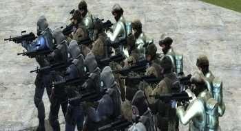 CS:GO IDF, SAS, ST6