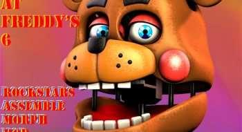 Five Nights at Freddy's 6 Morph Mod — Rockstars Assemble! | Garrys mod моды