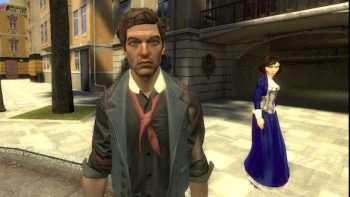 Букер и Элизабет из BioShock: Infinite | Garrys mod моды