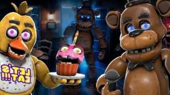 Five Nights at Freddy's AR: Special Delivery — Рэгдолл аниматроников (1 часть) | Garrys mod моды