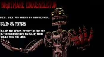 FNaF 4 — Nightmare Endoskeleton | Garrys mod моды