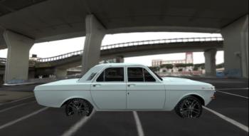 CrSk Autos — GAZ-24 Volga (wrong scale) | Garrys mod моды