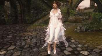 Skyrim — Одежда Белой Королевы UNP-HDT
