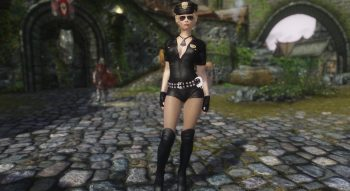 Skyrim — Женская одежда Полиции | Skyrim моды