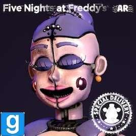 Five Nights at Freddy's AR: Special Delivery : Рэгдолл аниматроников (3 часть)