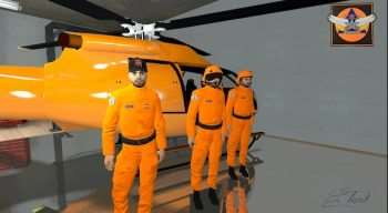 French helicopter pilot of civil security | Garrys mod моды