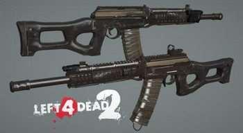 Left 4 Dead 2 — новые модели оружия — Franchi SPAS-12, Сайга-12