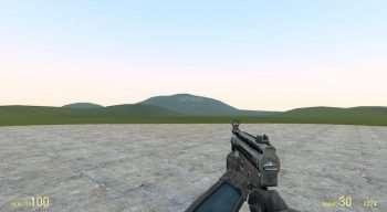 MP5 Из Халф Лайф 2 Бета