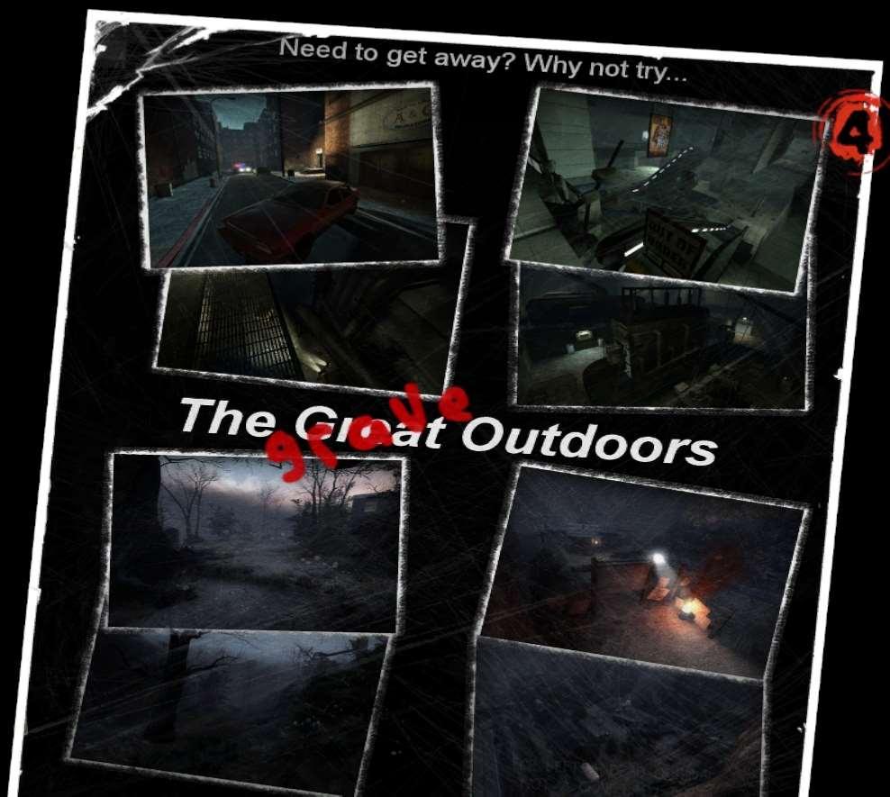 Left 4 Dead 2 — The Grave Outdoors — кооперативная кампания | Left 4 Dead 2 моды