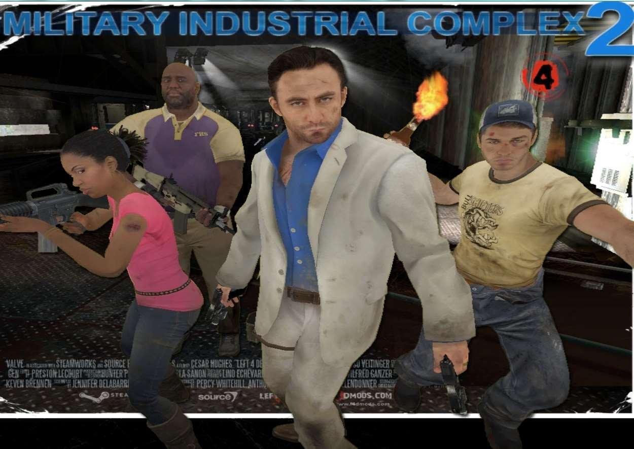 Left 4 Dead 2 — MILITARY INDUSTRIAL COMPLEX II — кооперативная кампания