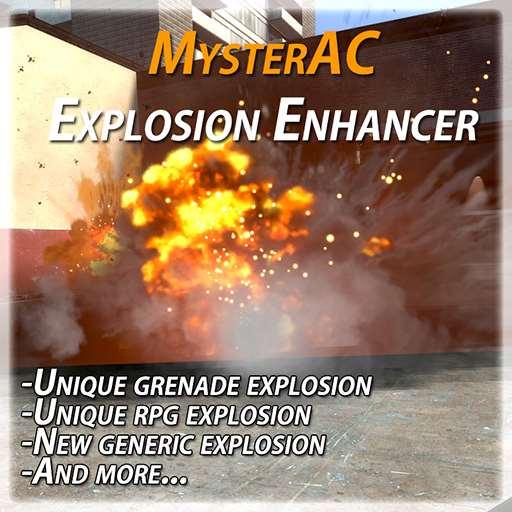 MysterAC Explosion Enhancer | Garrys mod моды